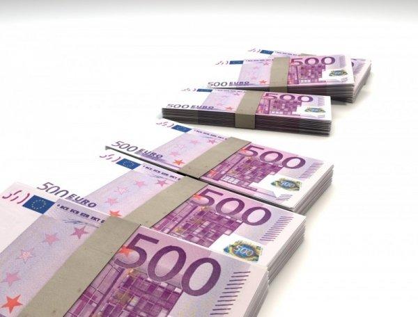 500 euro biljetten, Microsoft contracten
